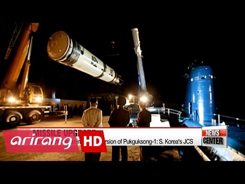North Korea's new SLBM launch