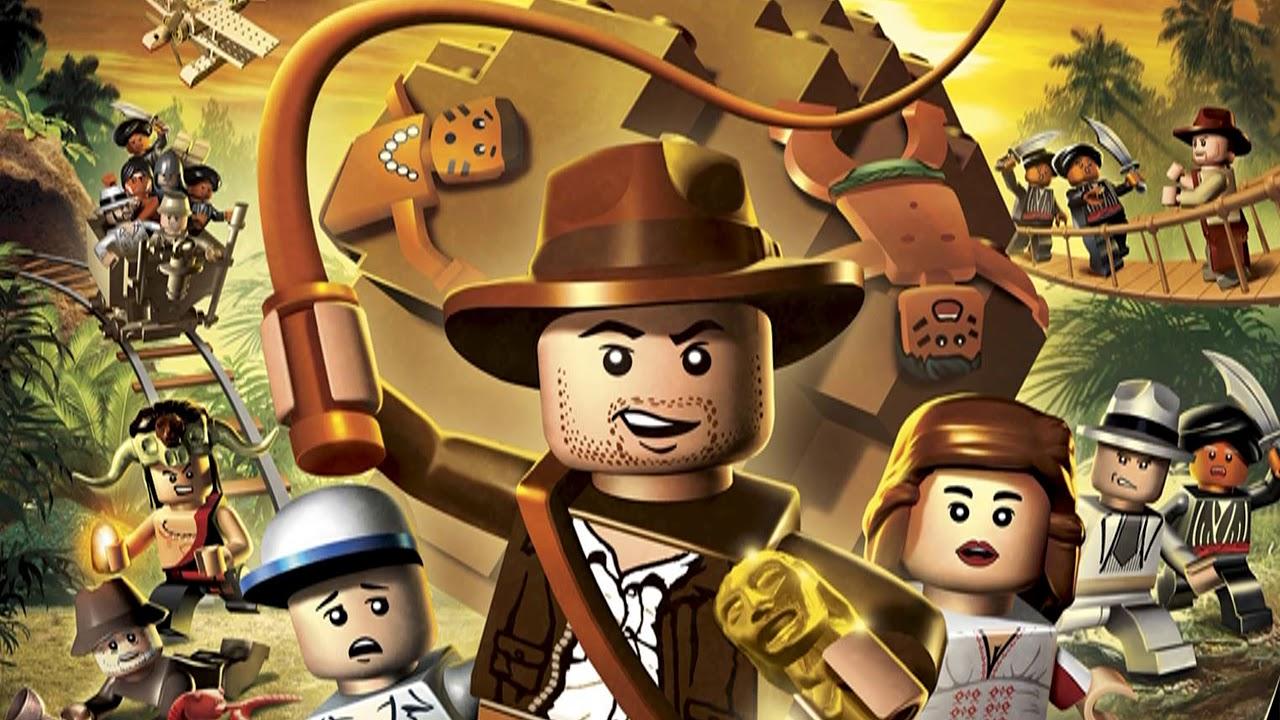 LEGO Indiana Jones Music - Title Screen - YouTube