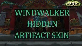 (World of Warcraft) Windwalker Hidden Artifact