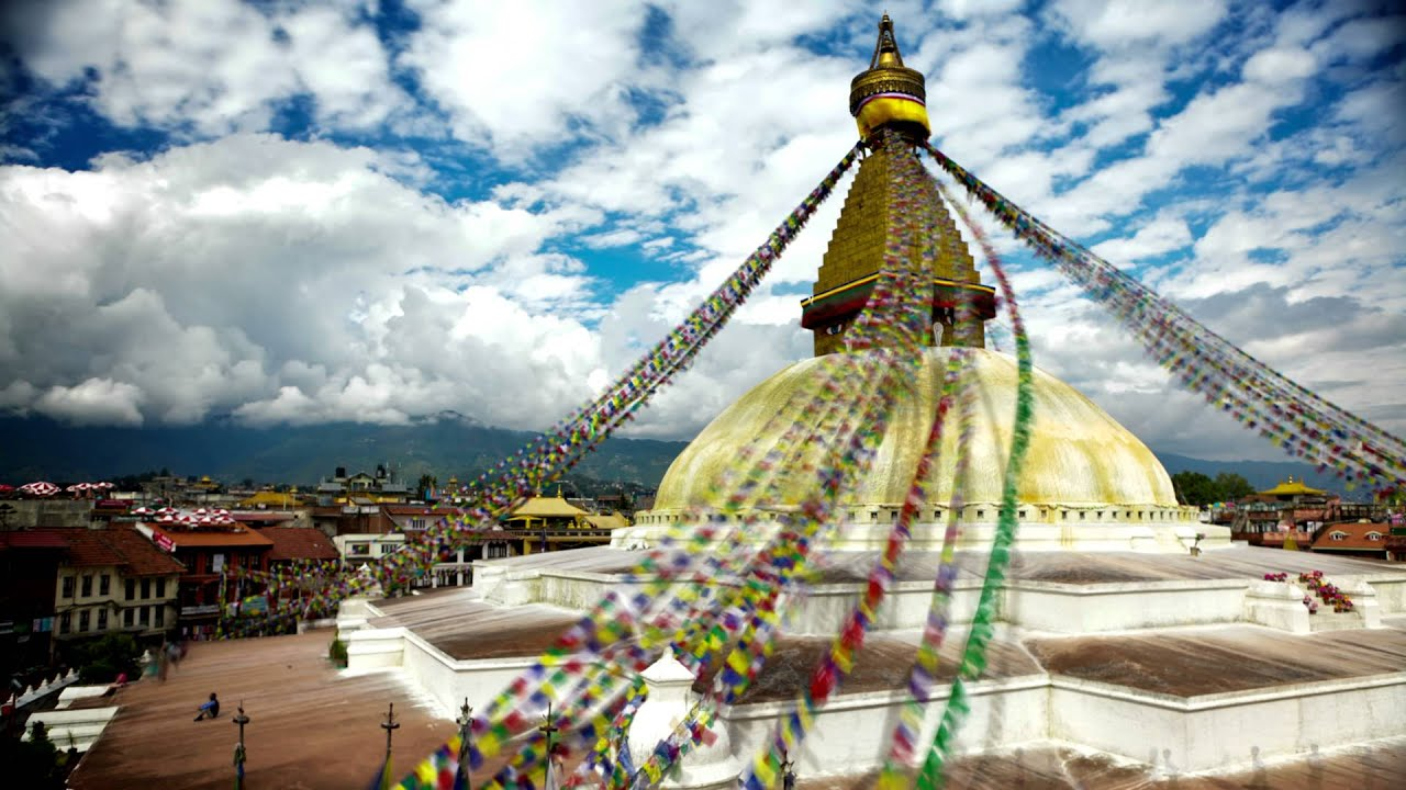 Sanchi Stupa Wallpaper Hd: Time-lapse Of Boudhanath Stupa In Boudha, Nepal.