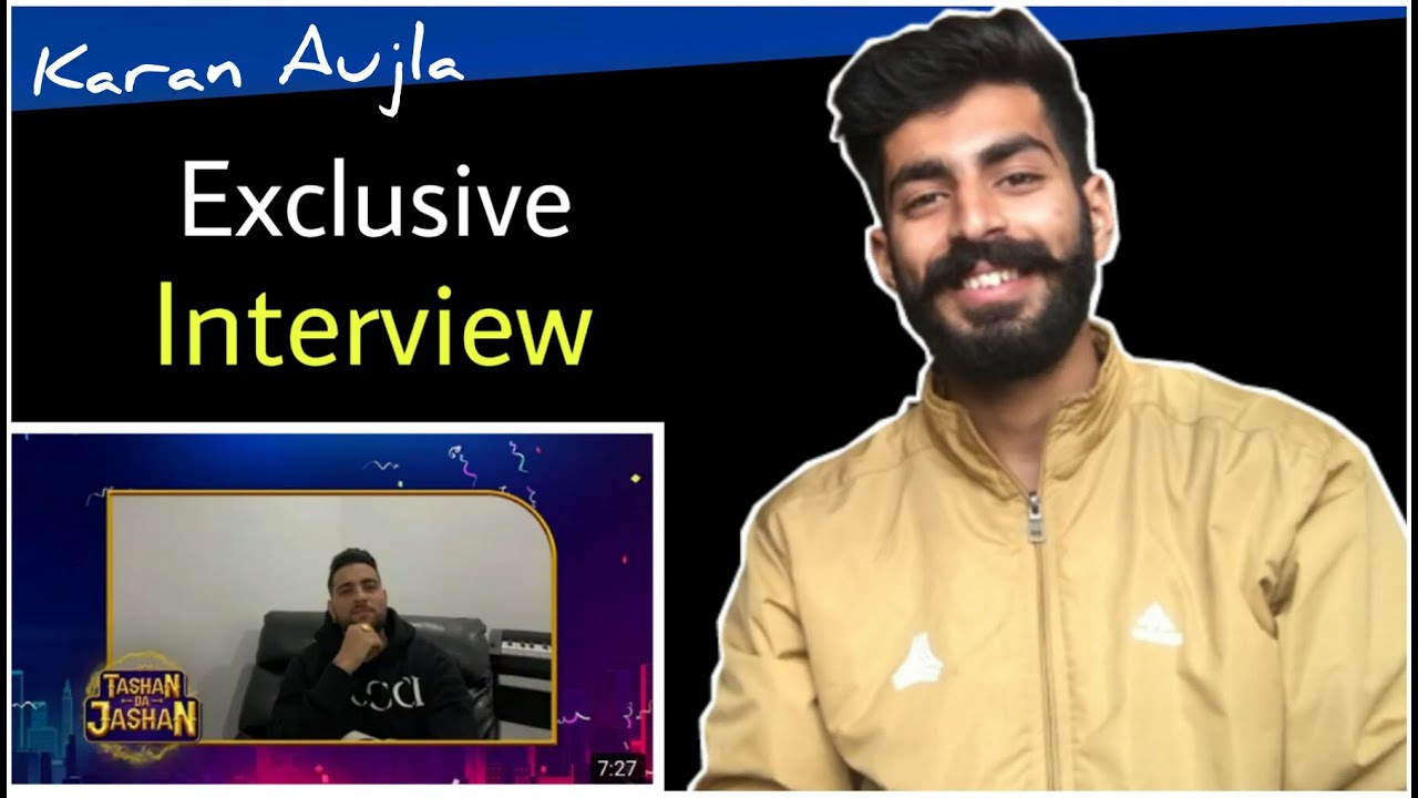 Reaction On : Karan Aujla Interview With 9X Tashan | Karan Aujla New Interview | Beat Blaster