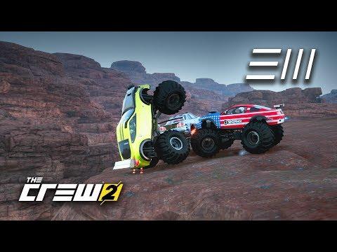 The Crew 2 - GTR vs 370z vs Mustang | Monster Trucks Battle on a Rally Stage! |