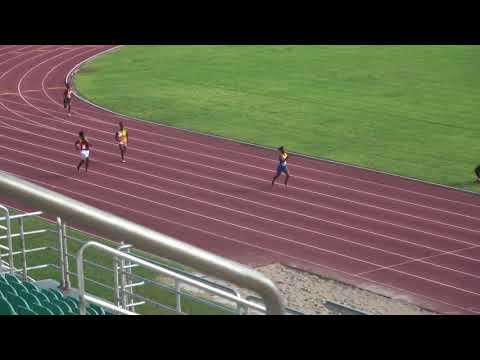 Jhunelle Jones 200m Heat @ Western Champs 2018