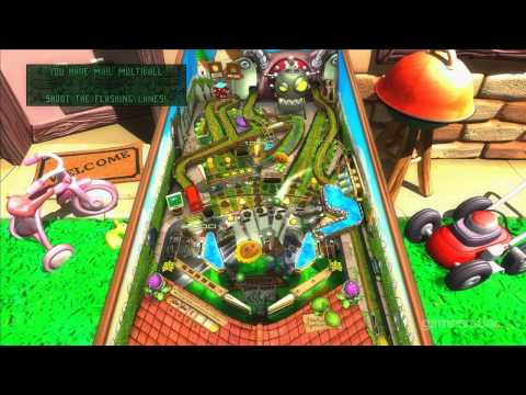 Zen Pinball 2: Plants vs. Zombies PAX 2012 Demo