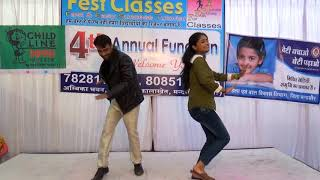Piyush  & sanjana dance on Fest classes on 4th Annual function