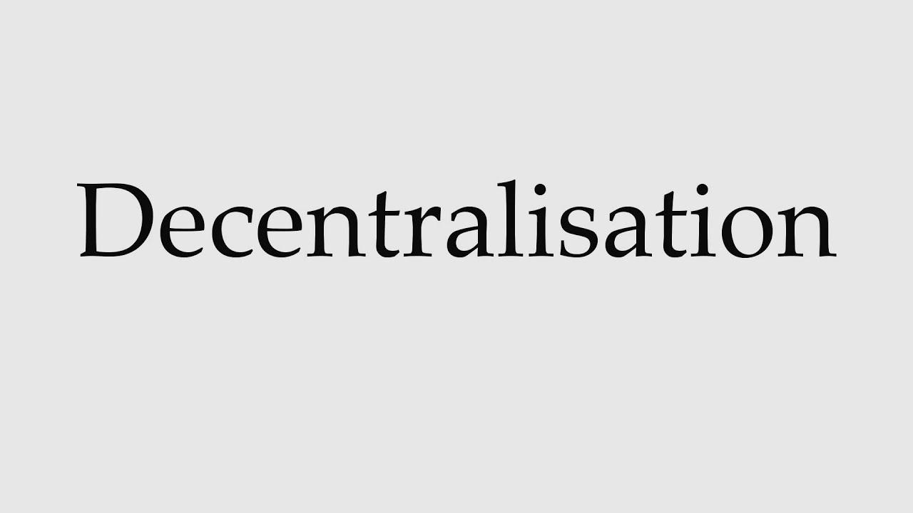 decentralisation country essay