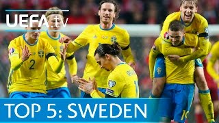 Top 5 Sweden EURO 2016 qualifying goals: Zlatan, Berg and more