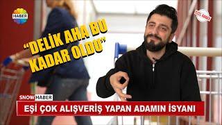 EŞİ ÇOK ALIŞVERİŞ YAPAN ADAM EVİNİ TERK ETTİ - Röportaj Adam