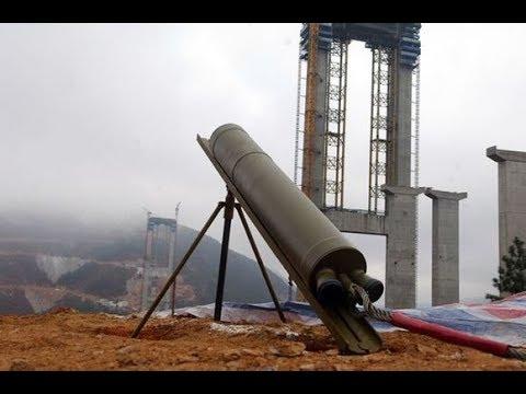 """云南贵州厉害了!中国竟用火箭""""射""""出一座世界级特高大桥"""