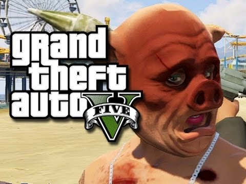 "GTA 5 Online Funny Moments! - ""RPG18"" The Bully! (GTA 5 Funny Gameplay)"