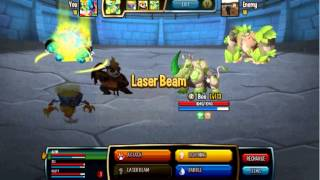 Monster Legends - How To Play Monster Legends GamePlay On Facebook Monster Arena Episode 1