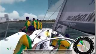 Match racing Virtual Skipper 5 - 001