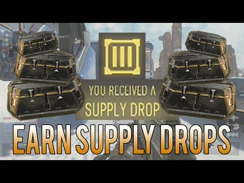 How To Earn SUPPLY DROPS (Tips & Tricks) [Advanced Warfare]