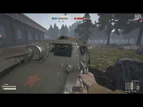Heroes and Generals Gameplay - Tips: how to close T20 Komsomolets windows with one person