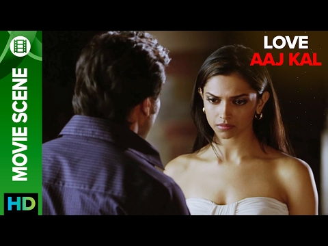 Deepika wants to stay away from Saif | Love Aaj Kal | Movie Scene