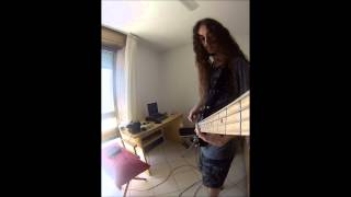 DevilDriver - Clouds Over California (Bass cover)