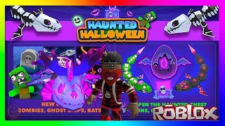 Roblox - Dragon Riders 🐉 🎃Halloween Special🦇 (All New Item's + New Shadow Dragon Lich 💀)