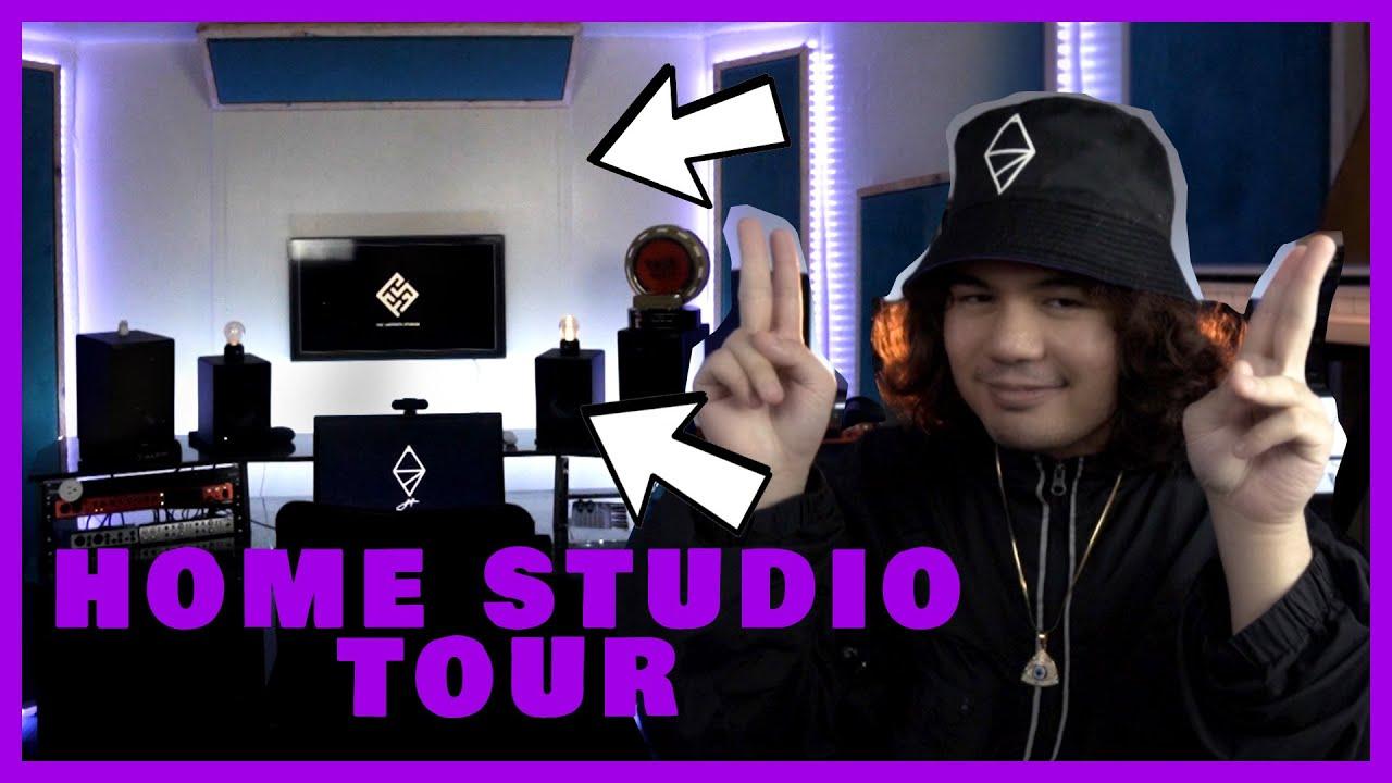 Alisson Shore Home Studio Tour 2020 (The Labrynth Studios)