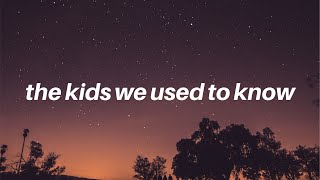 Watch Tate Mcrae The Kids We Used To Know video