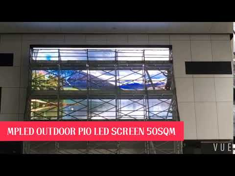 Singapore project 10x5m P10 outdoor led billboard display