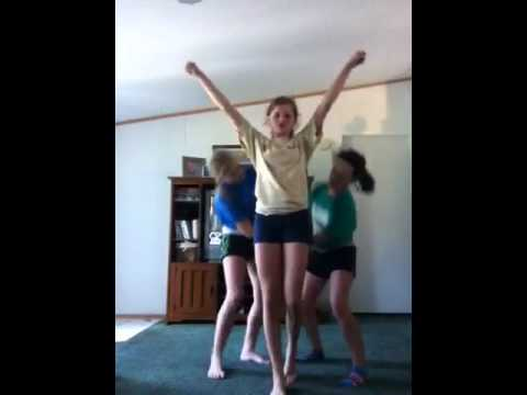 how to make up a cheer routine