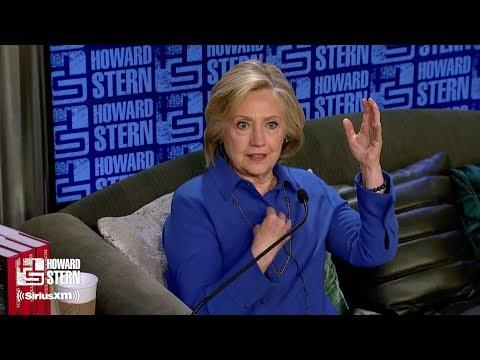 Hillary Clinton on the Howard Stern Show Pt. 5