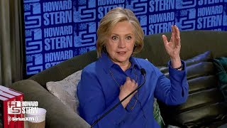 Hillary Clinton on the Howard Stern Show Pt. 5