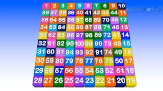 Number song 1-100 for children - Count 1-100 - 12345678910 Teach Numbers for Preschool