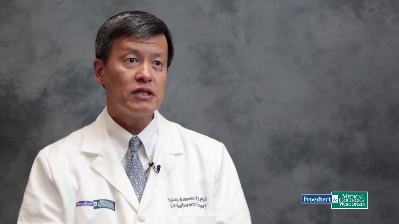 Dr.Takushi Kohmoto, cardiothoracic surgeon