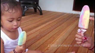 Balita Lucu Menunggu Paman penjual Es Krim   Belajar Bahasa Inggris   Baby learning colors
