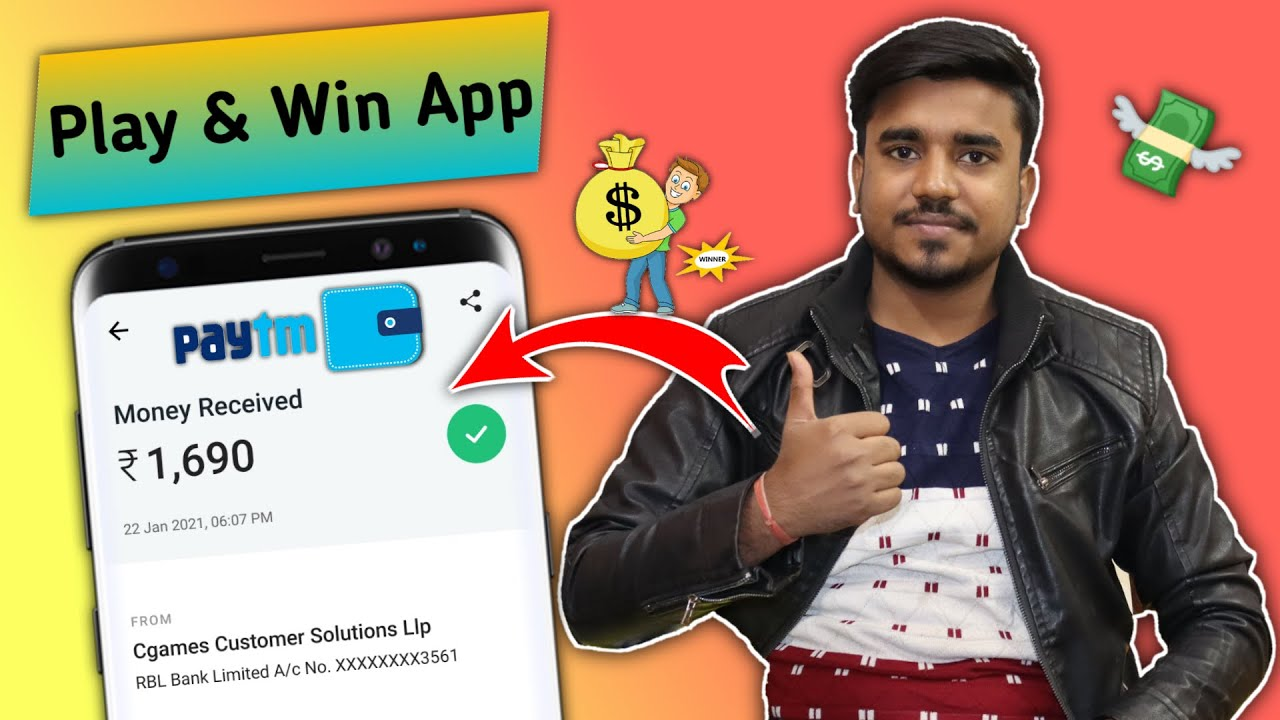 New Play & Win App - || 2021 New Gaming Earning App || Earn Daily Free Paytm Cash Instantly || GT