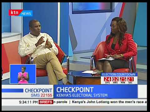 Checkpoint : Kenya's electoral system- Jubilee,NASA engrossed in tussles