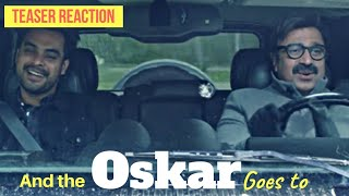 And the Oskar Goes to Teaser Reaction Review Salim Ahmed Tovino Thomas