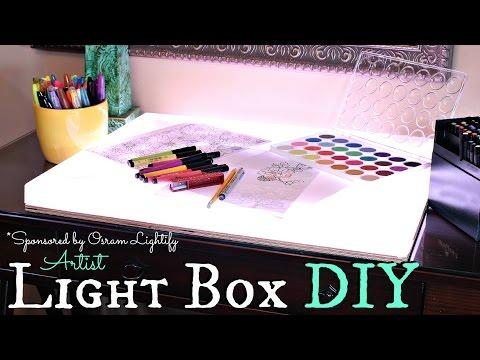 How To Artist Light Box Diy