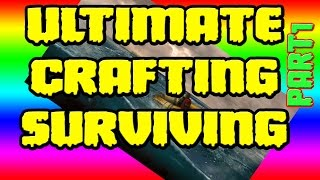 Crafting And Building Guide - Stranded Deep - Campfire - Cook - Crude Axe - Harvesting - Gathering