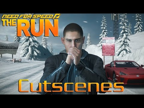 Need For Speed The Run All Cutscenes (Movie) 1080p