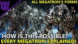 How Megatron Was Able To Obtained All His Robot Forms(EXPLAINED) - Transformers Bumblebee(2018)