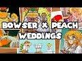A History of Every Bowser and Peach Wedding in the Mario Series