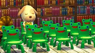 Making CURSED houses in Animal Crossing: Happy Home Designer