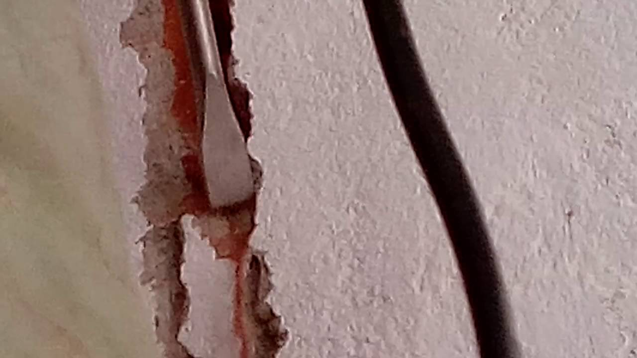 Chase Cutting For Concealed Wiring Youtube