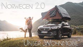 Unser SETUP für den Norwegen-Roadtrip2.0 // Vlog00 Fahrzeug, Dachzelt und Route (re-Upload)