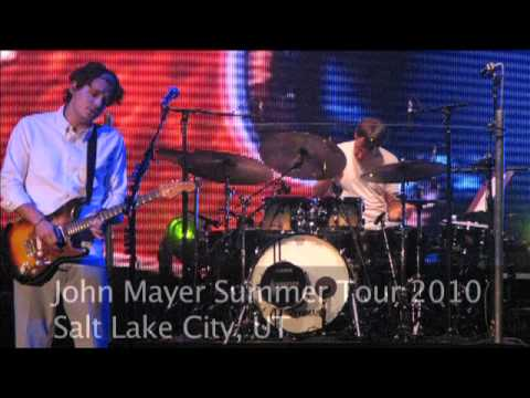 John Mayer - Drum Solo Into Waiting On The World To Change - Salt Lake City: August 31, 2010