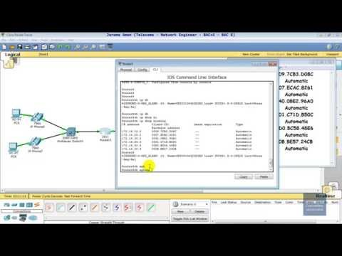 VOIP  OSPF INTER VLAN ROUTING SEC SOUS PT  PART 2