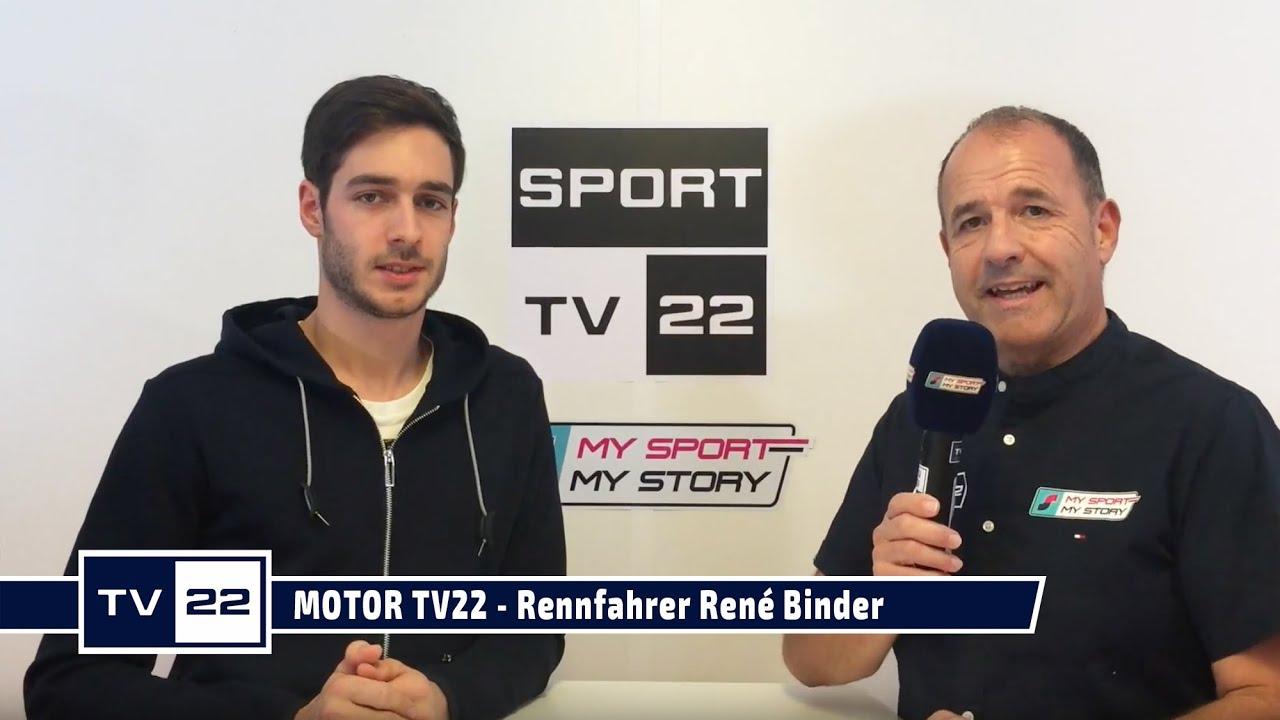 MOTOR TV22: Rennfahrer Rene Binder im exklusiven Interview