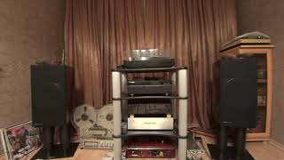 Speakers Trio LS, Amp. SE EL84, ZTE Axon 7 mini.