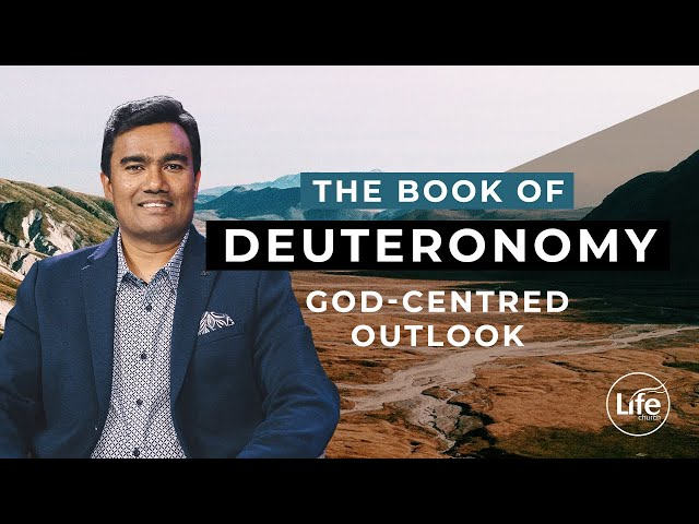 Deuteronomy 3 - God-Centred Outlook | Rev Paul Jeyachandran