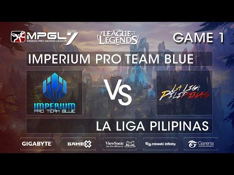 MPGL LOL - IPT  Blue vs La Liga Pilipinas - Game 1 - Best of 3 | Asurai and Manjean