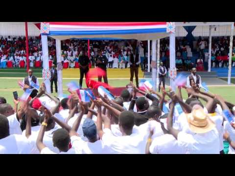 RPF Chairman Paul Kagame campaigns in Kirambo   Burera, 31 July 2017