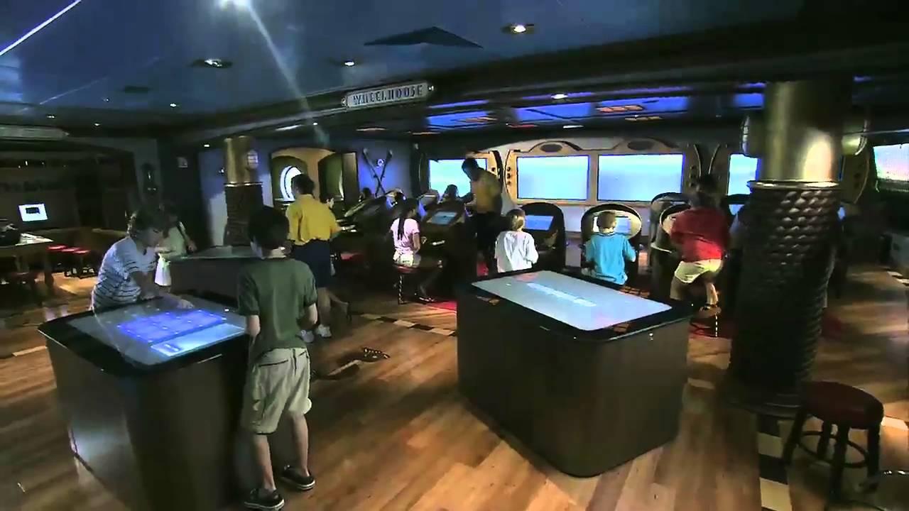 Disney Cruise Lines The Dream Oceaneer Club Youtube