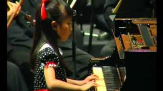 Celestine Yoong (Age9) played Mozart Piano Concerto No.13 KV415 with N.Symphony Orchestra